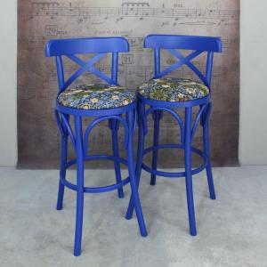 Венский полубарный стул - William Morris